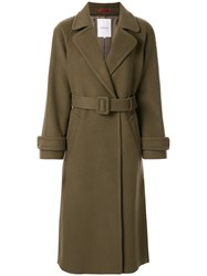 Loveless Belted Single Breasted Coat 60