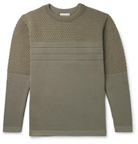S.N.S. Herning Mediator Virgin Wool Sweater Green