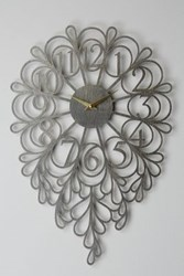 Anthropologie Gatehouse Wall Clock Vines Oxford
