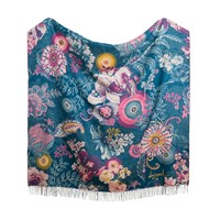 Desigual Paisley Bloom Blanket