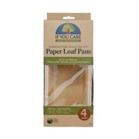 If You Care Paper Loaf Pans Set Of 4
