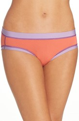 Exofficio Women's Give N Go Sport Briefs Hot Coral