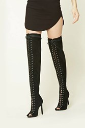 Forever 21 Wide Width Faux Suede Boots