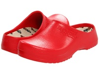 Super Birki By Birkenstock Red Clog Shoes