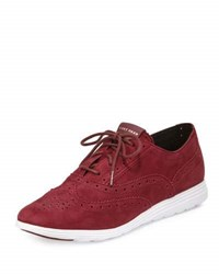 Cole Haan Grand Tour Oxford Sneaker Purple