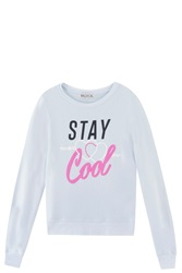 Wildfox Couture Stay Cool Sweatshirt Blue