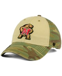 '47 Brand Maryland Terrapins Operation Hat Trick Gordie Clean Up Cap Camo