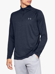 Under Armour Tech 2.0 1 2 Zip Long Sleeve Training Top Navy