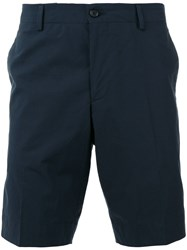 Paul Smith Ps By Classic Chino Shorts Blue