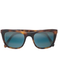 L.G.R Square Shaped Sunglasses Brown