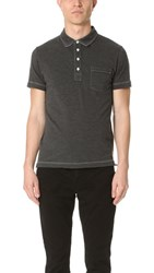 Billy Reid End On End Pensacola Polo Charcoal Heather