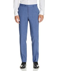 Canali Regular Fit Travel Trousers Light Blue