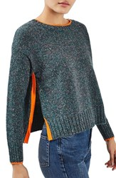 Topshop Women's Marled Sweater