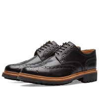 Grenson Archie C Brogue Black