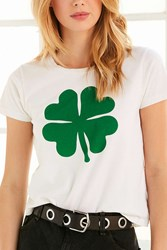 Truly Madly Deeply Shamrock Tee Green