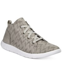 Bearpaw Gracie Lace Up Sneakers Women's Shoes Dove Grey