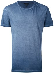 Belstaff Degrade T Shirt Men Cotton Xl Blue