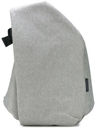 Cote And Ciel 'Isar' Large Eco Yarn Bag Unisex Cotton Polyester One Size Grey