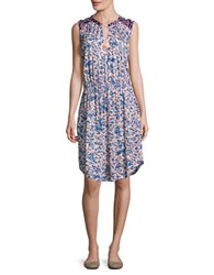 Lucky Brand Floral Knit Dress Multi
