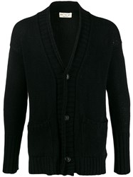Ma'ry'ya V Neck Cardigan Black