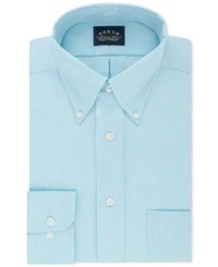 Eagle Men's Big And Tall Classic Fit Stretch Collar Non Iron Solid Dress Shirt Lagoon