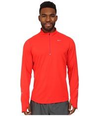 Nike Element Half Zip Daring Red Daring Red Reflective Silver Men's Long Sleeve Pullover