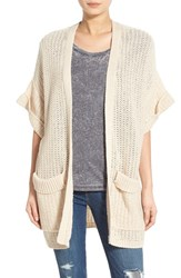 Women's Hinge Open Front Cardigan