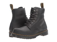 Dr. Martens Work Service 7B10 7 Eye Boot Black Industrial Bear Lace Up Boots
