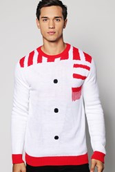 Boohoo Christmas Jumper White