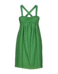 Nina Short Dresses Green