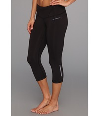 Brooks Infiniti Capri Iii Black Women's Capri