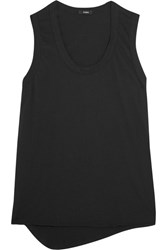 Bassike Cotton Jersey Tank Black