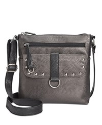 Styleandco. Style Co. Maryyta Crossbody Only At Macy's Pewter Black