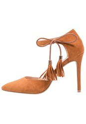 Dorothy Perkins Georgie High Heels Brown Tan