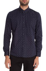 7 Diamonds Men's Winters Dream Slim Fit Woven Shirt