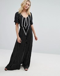 O'neill Cynthia Vincent For Beach Maxi Cover Up Black
