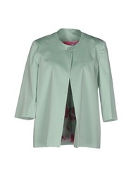 Mood Suits And Jackets Blazers Women Light Green
