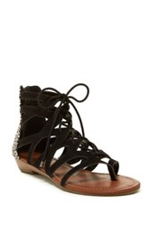 Rampage Santini Wedge Sandal Black