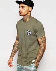 Hype T Shirt With Small Logo Khaki