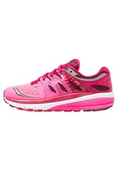 Saucony Zealot Iso 2 Neutral Running Shoes Pink Berry
