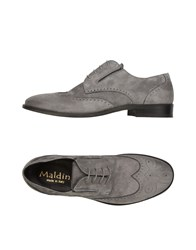Maldini Lace Up Shoes Grey