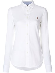 Ralph Lauren Button Down Shirt Cotton M White