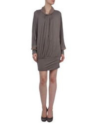 Entre Amis Short Dresses Grey