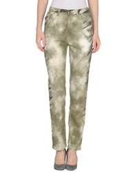 Krizia Jeans Casual Pants Military Green
