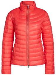 Oui Quilted Faux Down Coat High Risk Red