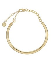 French Connection Chain Cuff Bracelet Gold