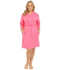 Jockey Cotton Essentials Plus Size Robe Coral Women's Robe