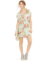 Denim And Supply Ralph Lauren Floral Print Gauze Dress Floral Multi