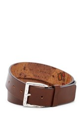 Tommy Bahama Map Leather Belt Brown