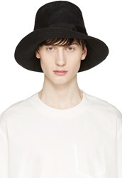 Attachment Black Linen Top Hat